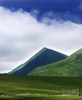 BERNARD JAUBERT - Col of Croix Morand. The Sancy Massif. Auvergne. France.