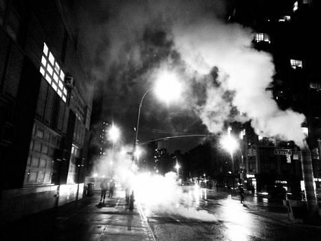 Cold Dark Corner by Jhoy E Meade