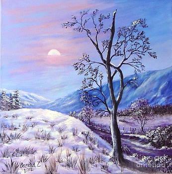 Cold Evening by Bozena Zajaczkowska