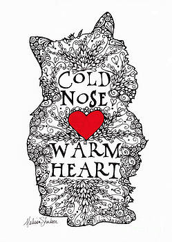 Cold Nose Warm Heart by Melissa Sherbon