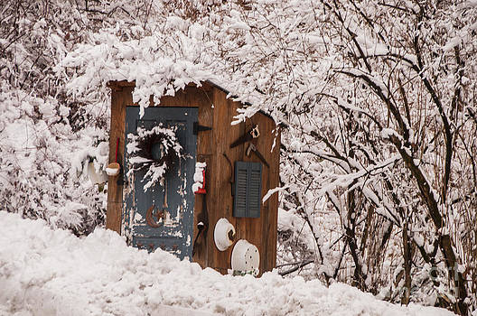 Cold Outhouse by Jane Axman