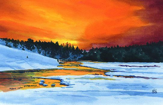Cold Sunset by Ken Meyer jr
