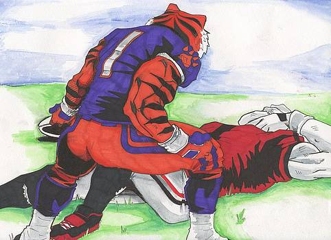 College Rivalries by Michael Briggs