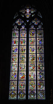 Teresa Mucha - Cologne Cathedral Stained Glass Window Johannes Klein Windows