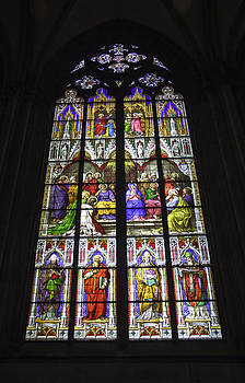 Teresa Mucha - Cologne Cathedral Stained Glass Window of Pentecost