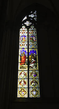 Teresa Mucha - Cologne Cathedral Stained Glass Window of Saint John the Baptist