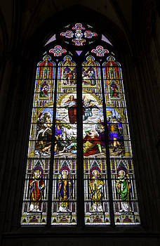 Teresa Mucha - Cologne Cathedral Stained Glass Window of St Paul