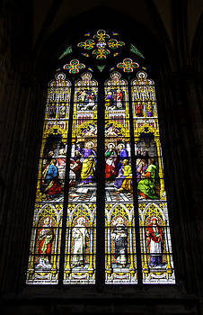 Teresa Mucha - Cologne Cathedral Stained Glass Window of St Peter