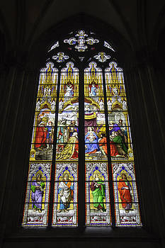 Teresa Mucha - Cologne Cathedral Stained Glass Window of the Adoration of the Magi