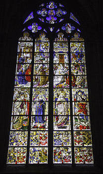 Teresa Mucha - Cologne Cathedral Stained Glass Window of the Three Holy Kings