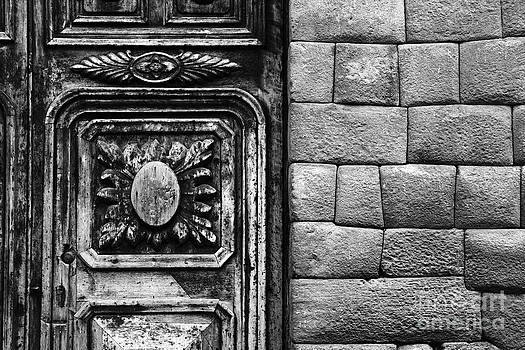 James Brunker - Colonial Door and Inca Wall