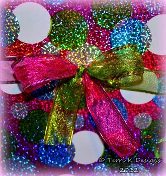 Color Bow Dots by Terri K Designs