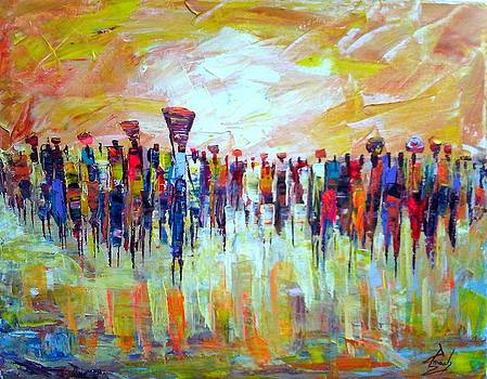 Color Can Talk by Francis Amoah