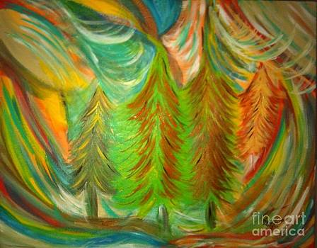 Color Me Forest by Julie Crisan