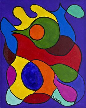 Color My World Bright by Judy M Watts-Rohanna