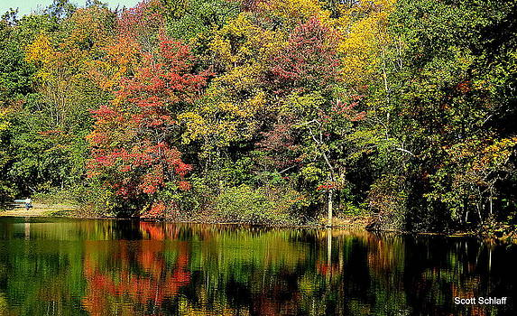 Color Of Fall by Scott Schlaff