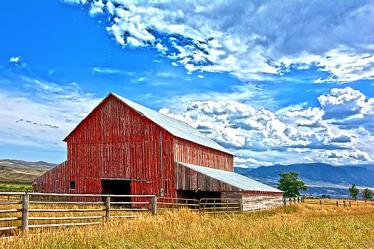 Randall Branham - Colorado Barn  photoart
