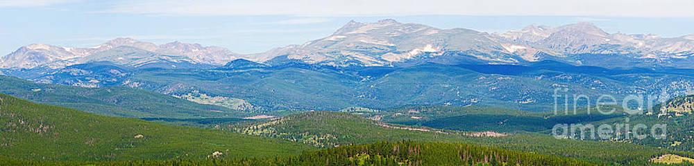 James BO  Insogna - Colorado Continental Divide Panorama HDR Crop