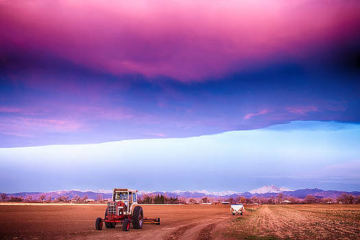 James BO  Insogna - Colorado Country Intense Morning View
