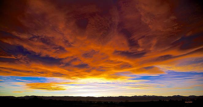 Colorado November Sunset by Stephen  Johnson