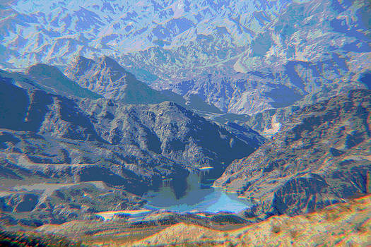 Colorado River View by Sharon McLain