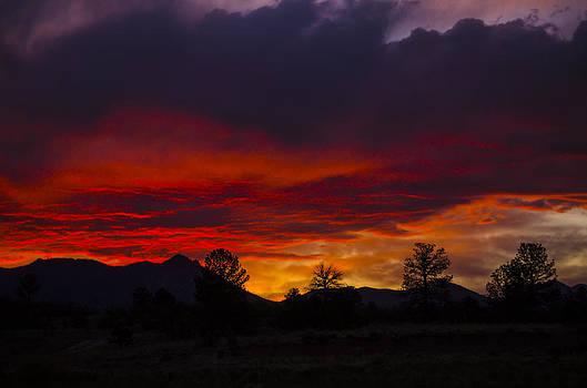 Colorado Sunset by Debbie Karnes