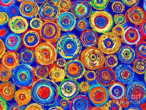 Barbara Drake - Colored Paper Rounds