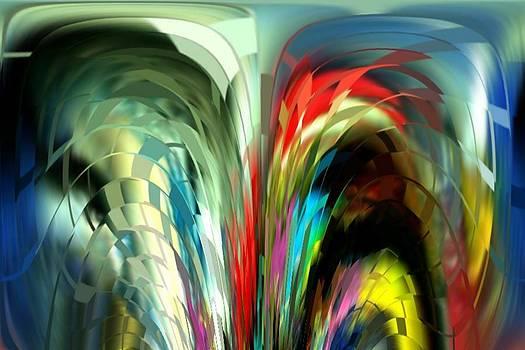 Colored Prisms by Julie Grace