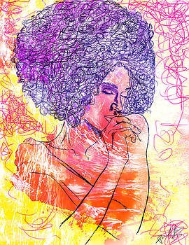 Colored Woman by Kenal Louis