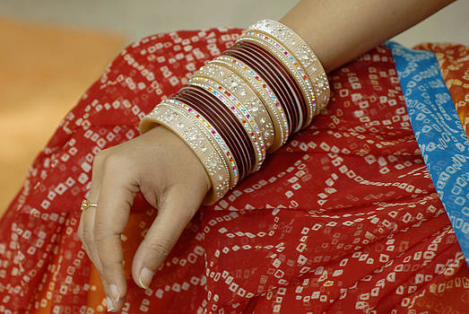 Colorful Bridal Ornament Bangles by Bhupendra Singh