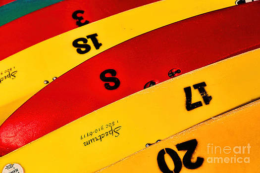 Jon Burch Photography - Colorful Canoes