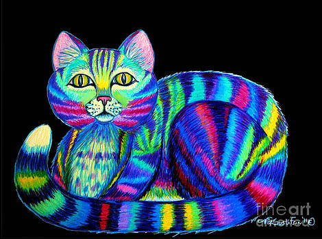 Nick Gustafson - Colorful Cat 2