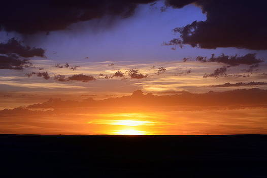 Colorful Colorado Sunset by Clarice  Lakota