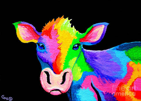 Nick Gustafson - Colorful Cow-Cow-A-Bunga