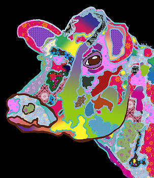 Kate Farrant - Colorful Daisy the cow