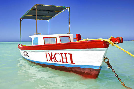David Letts - Colorful Fishing Boat of the Caribbean