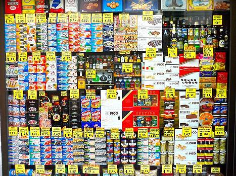 Colorful food shop by Alberto Pala
