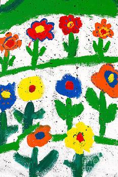 Gaspar Avila - Colorful garden