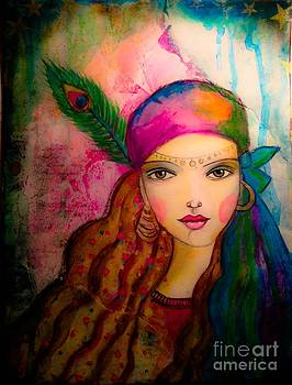 Colorful Gypsy by Julissie Saltzberg