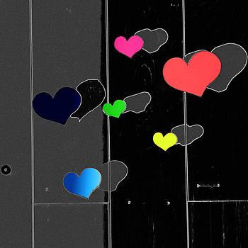 Xueling Zou - Colorful Hearts