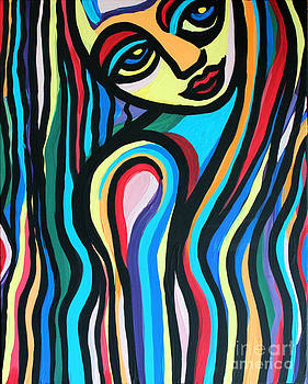 Colorful Lady  by Cynthia Snyder