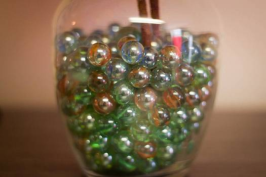 Colorful Marbles by Richie Stewart