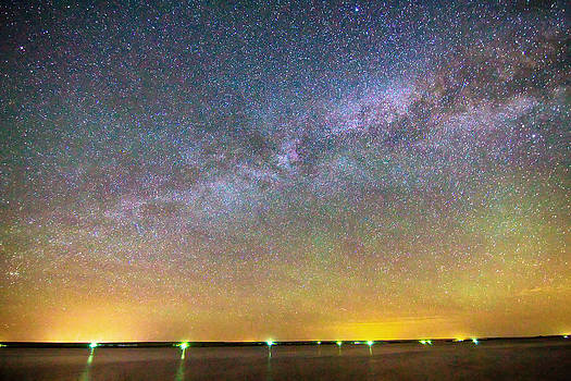 James BO  Insogna - Colorful Milky Way Night