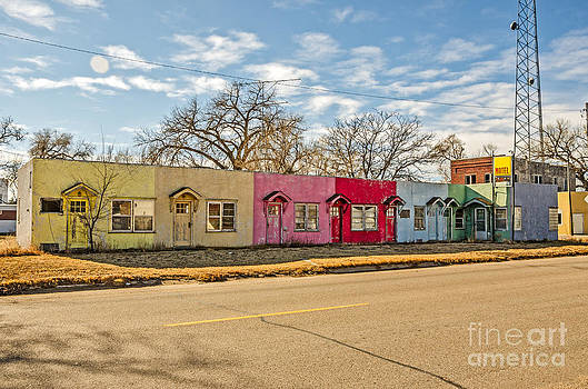 Colorful Motel by Sue Smith