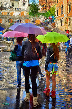 Colorful Rainy Day by SM Shahrokni