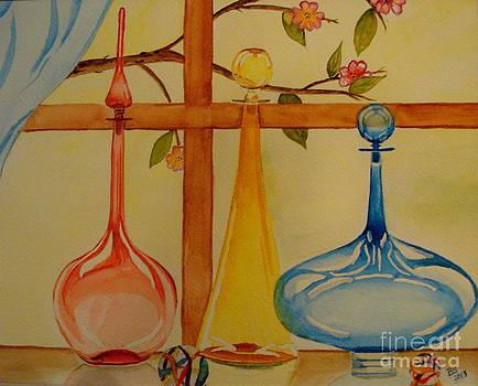 Colorful Reflections by Bonnie Schallermeir