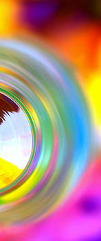 Colorful Rings II by Christine Ricker Brandt