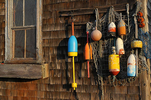 Juergen Roth - Colorful Rockport Buoys
