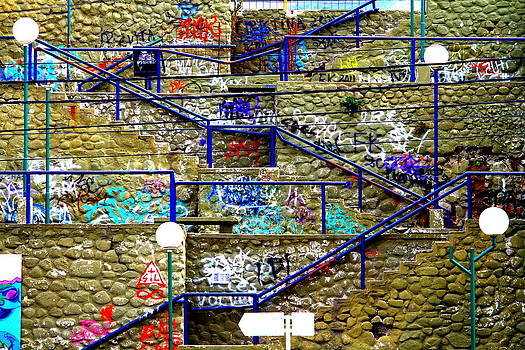 Colorful Steps by Arie Arik Chen