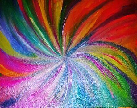 Colorful Strokes by Tiffany  Rios